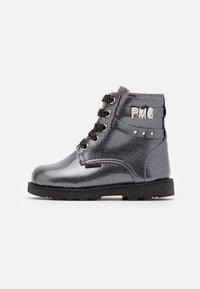 Primigi - Lace-up ankle boots - canna fucile - 0