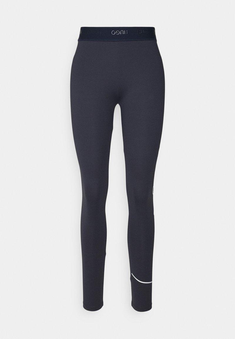 HUGO - NICAGO - Leggings - Trousers - dark blue