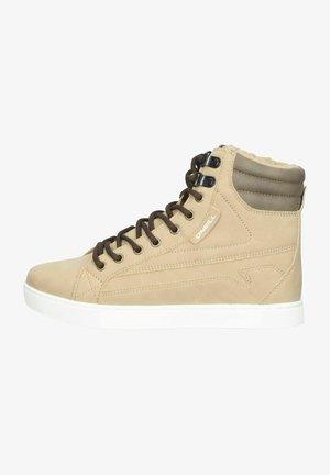Sneakers hoog - taupe grey
