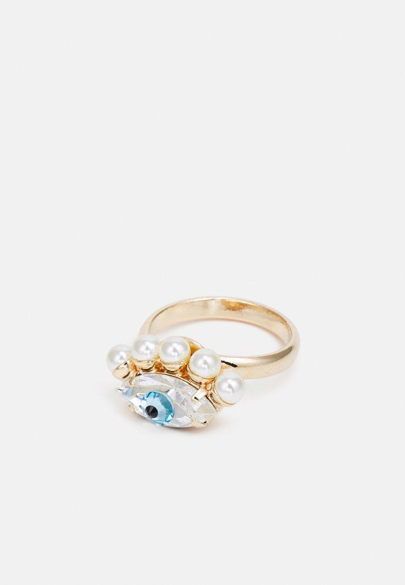 Anton Heunis - EYE - Ring - cream/blue