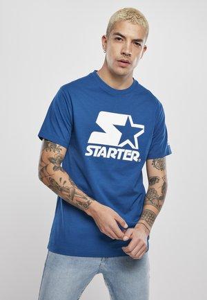 Print T-shirt - blue night