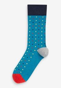 Next - Pack of: 5  - Socks - blue - 6