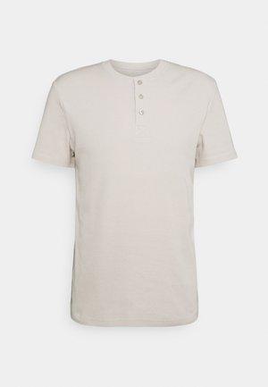 LOUNGE HENLEY TEE - Maglia del pigiama - beige