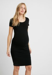 Anna Field MAMA - 2 PACK - Vestido de tubo - black/grey - 5