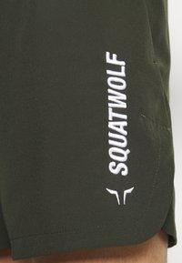 SQUATWOLF - WARRIOR SHORTS - Sports shorts - olive - 4