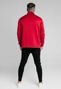 SIKSILK - IMPERIAL ZIP THROUGH HOODIE - Zip-up sweatshirt - dark red - 2