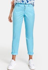 Taifun - Trousers - turquoise - 0