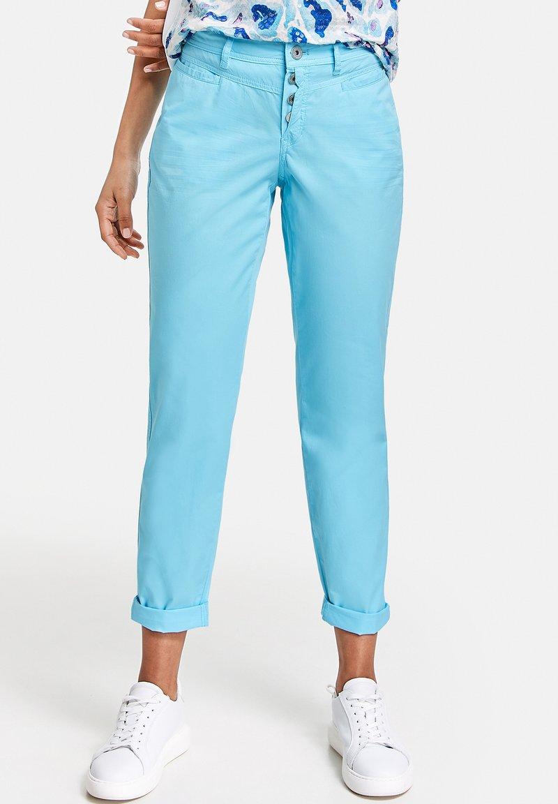Taifun - Trousers - turquoise