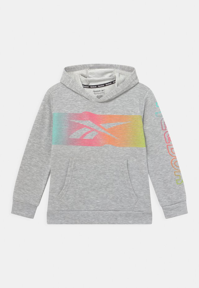 RAINBOW VECTOR HOODIE UNISEX - Sweater - grey