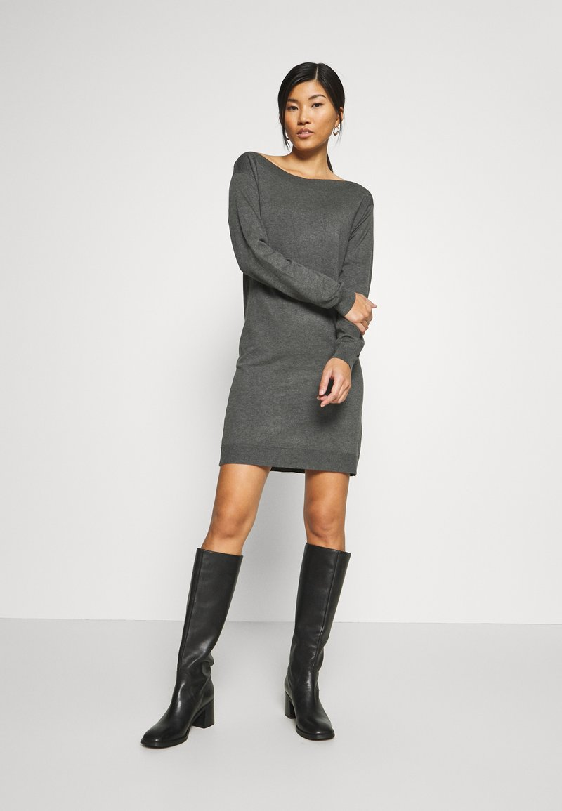 Anna Field - Jumper dress - dark grey mélange