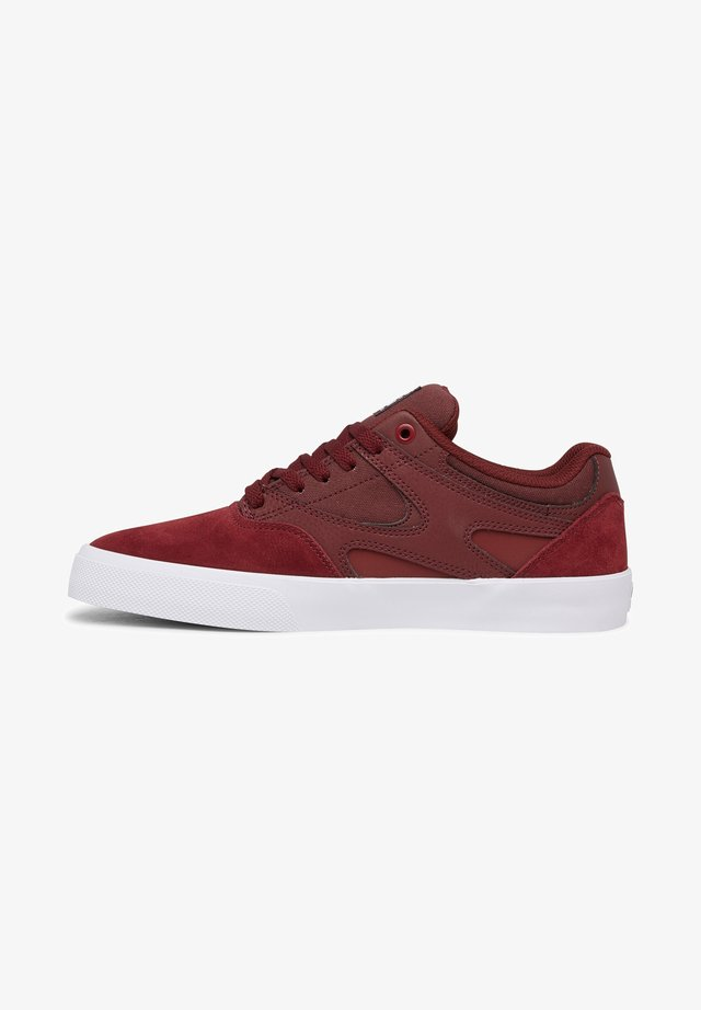 KALIS UNISEX - Chaussures de skate - maroon
