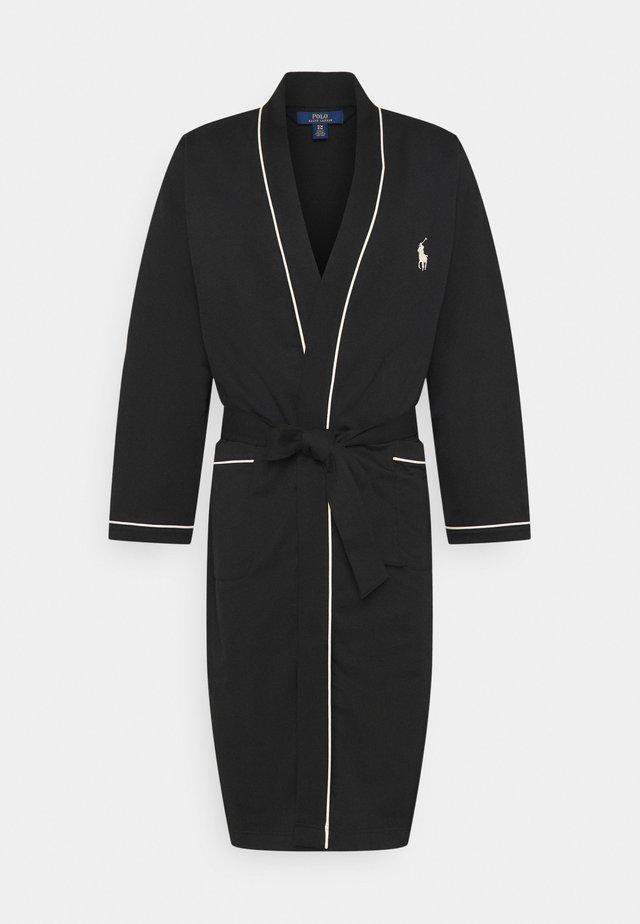 LOOP BACK  - Dressing gown - black guide