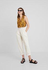 TWINTIP - Button-down blouse - yellow - 1