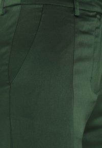 Glamorous - STUDIO SPLIT SKINNY FIT TROUSER - Trousers - forest green - 2