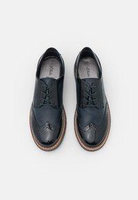 s.Oliver - LACE UP - Šněrovací boty - navy - 5
