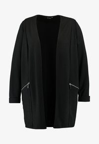 Evans - ZIP DETAIL - Short coat - black - 4