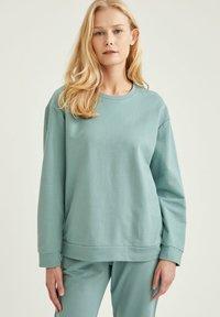 DeFacto - Sweatshirt - green - 0