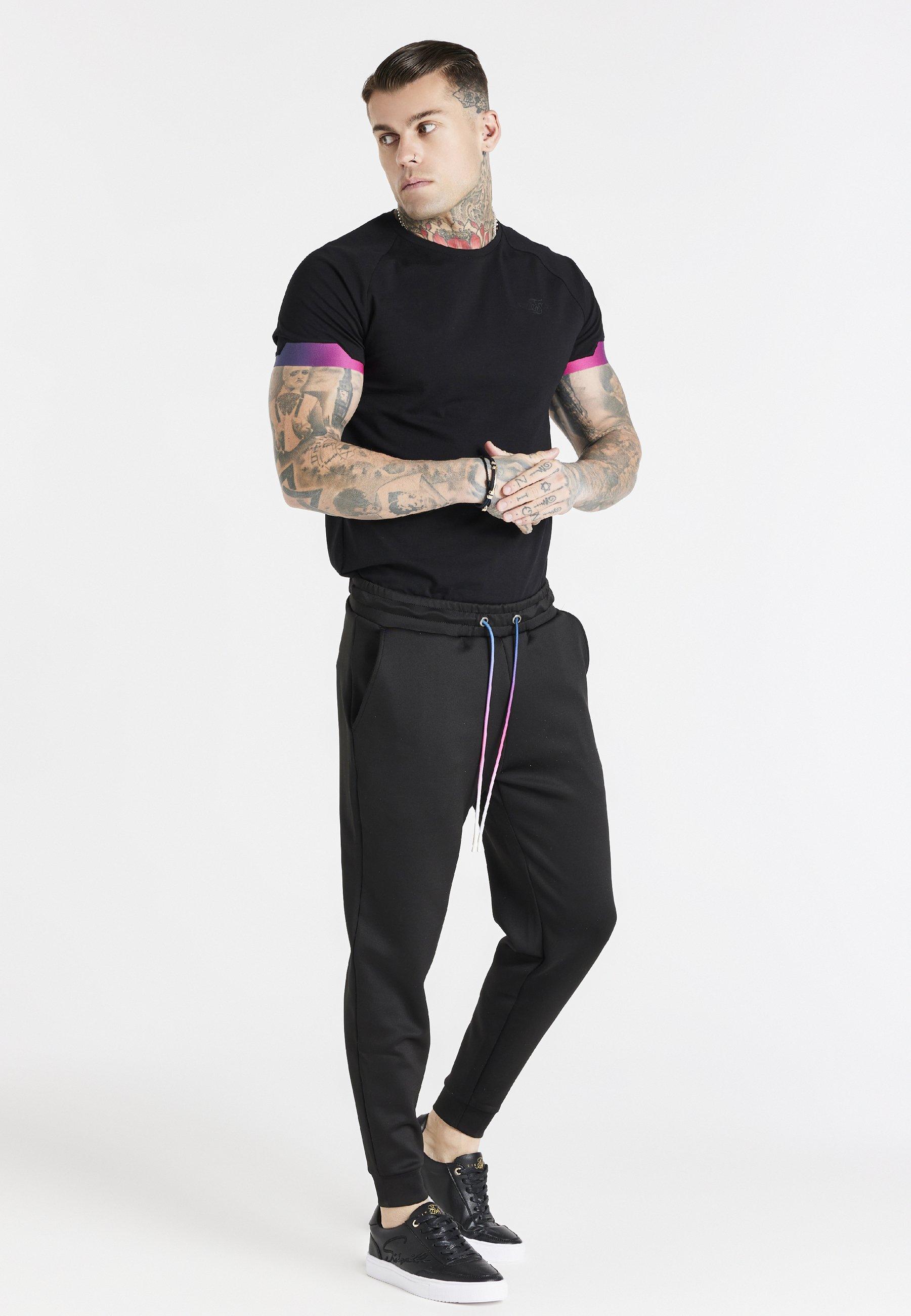 Men EXPOSE FADE RAGLAN GYM TEE - Basic T-shirt
