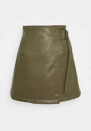 PAM SKIRT - Mini skirt - khaki
