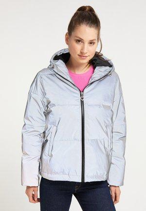 Zimní bunda - silber