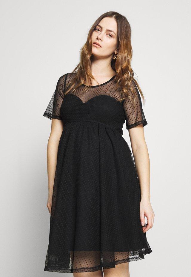 VENDOME DRESS - Vapaa-ajan mekko - black