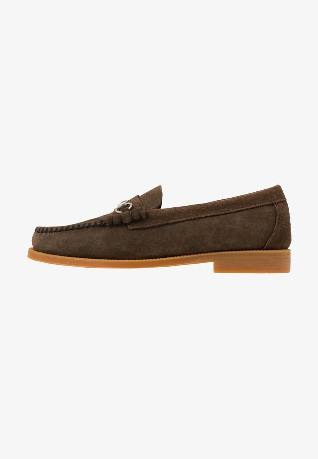 EASY WEEJUN LINCOLN - Slip-ons - dark brown