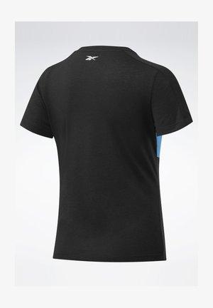 TRAINING ESSENTIALS LINEAR LOGO DETAIL T-SHIRT - T-shirts print - black