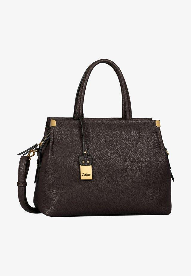 Handbag - mocca