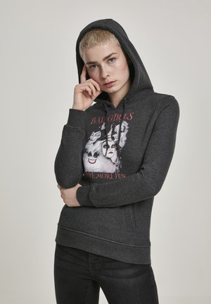 BAD GIRLS HAVE MORE FUN - Hoodie - charcoal