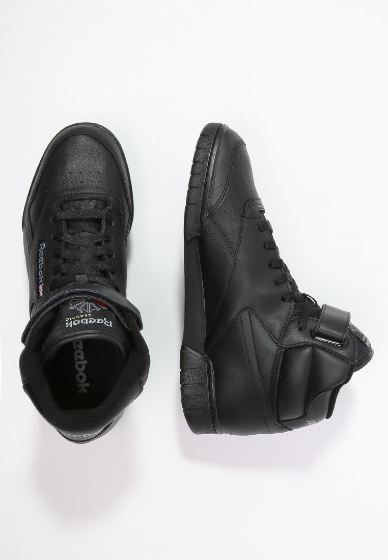 pobre Humedal primero  Reebok Classic EX-O-FIT LEATHER SHOES - High-top trainers - black -  Zalando.co.uk