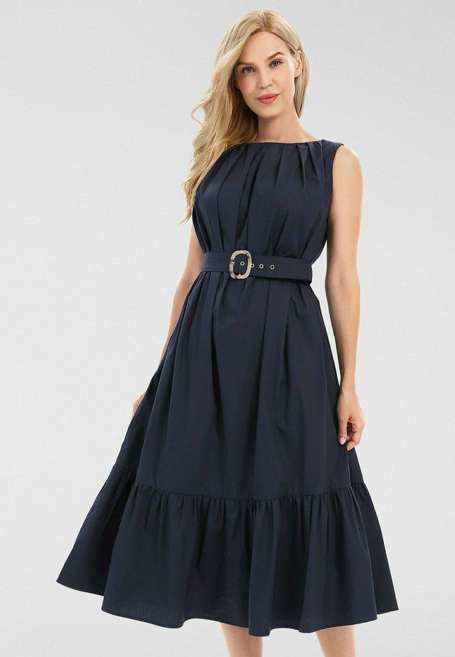Korte jurk - nachtblau
