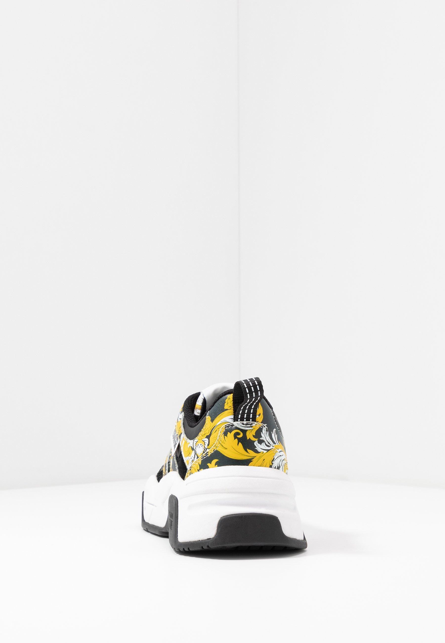 Versace Jeans Couture Baskets basses blackyellownoir