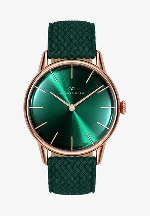 UHR SERENITY GREENHILL DARK GREEN PERLON 32MM - Watch - sunray green
