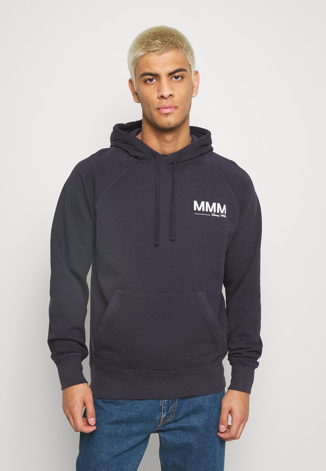 FRED HOODIE - Jersey con capucha - navy