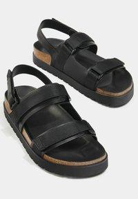 Bershka - Sandals - black - 2