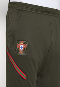 Nike Performance - PORTUGAL DRY PANT  - Träningsbyxor - sequoia/sport red - 3