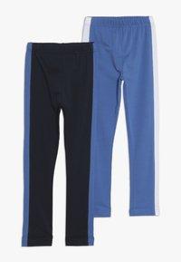 Friboo - 2 PACK - Leggings - Trousers - navy blazer - 0