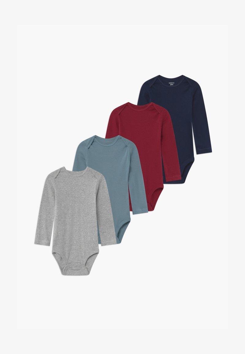 Carter's - 4 PACK - Body - blue/bordeaux/grey