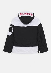 Columbia - CHALLENGER - Outdoor jacket - black/white/mountain red - 1
