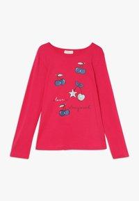OVS - PRINT 2 PACK - Långärmad tröja - snow white/rose red - 2