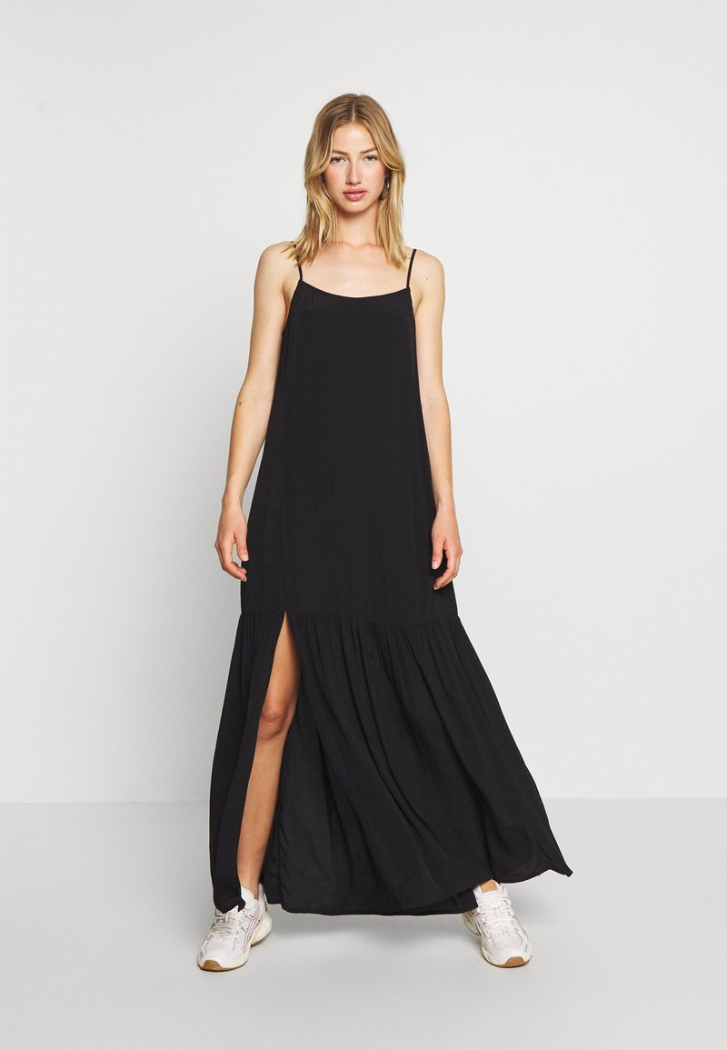 Weekday - ALVA DRESS - Maxi dress - black