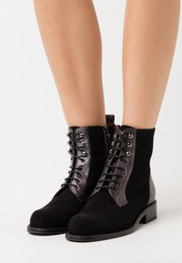 Hash#TAG Sustainable - Lace-up ankle boots - nero - 0