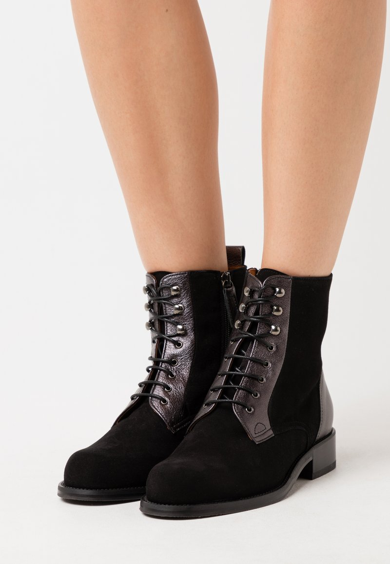 Hash#TAG Sustainable - Lace-up ankle boots - nero