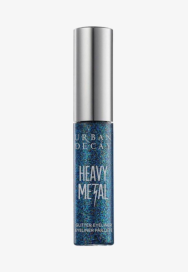 HEAVY METAL GLITTER LINER - Eyeliner - metallic blue