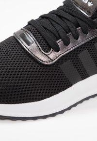 adidas Originals - U_PATH X RUNNING-STYLE SHOES - Trainers - core black/purple beauty/footwear white - 2