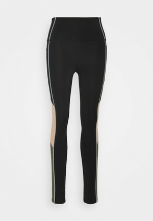 FAST LANE - Leggings - black