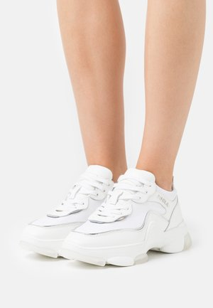 LACE UP  - Trainers - talco/color argento