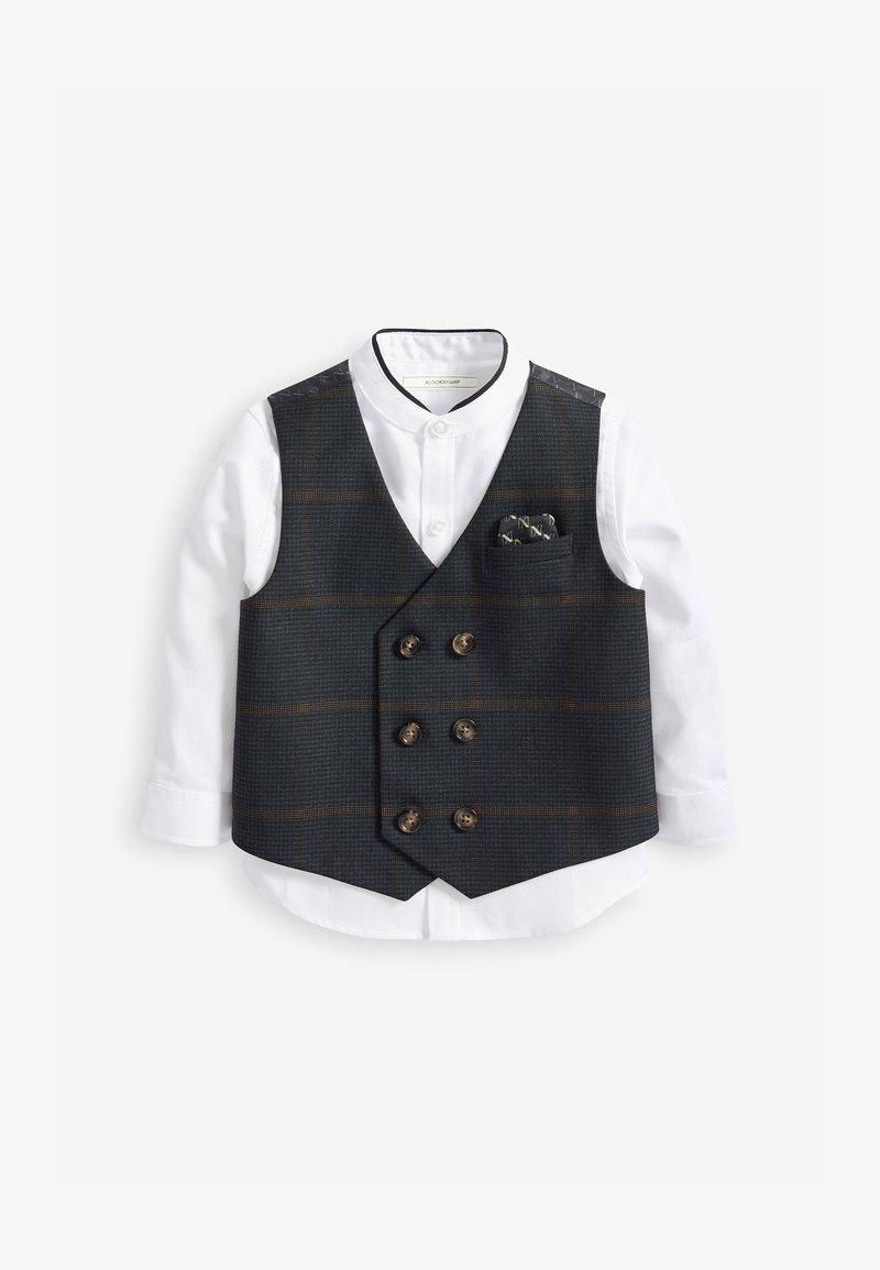 Next - Waistcoat - blue