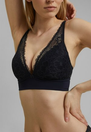 Triangle bra - navy