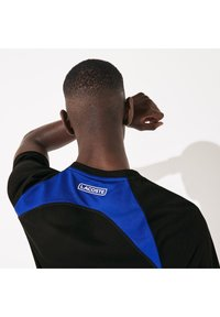 Lacoste Sport - TH4827 - Print T-shirt - noir / bleu / blanc / blanc - 4